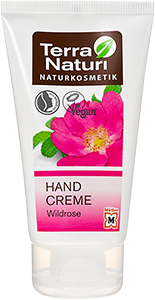 Crème mains TN Rose sauvage & huile de Ricin, 75 ml