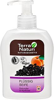 Savon liquide naturel TN à l'Abricot & Sureau noir, 300 ml