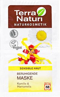 Masque TN apaisant peaux sensibles Camomille & Hamamélis 2 x 7,5 ml