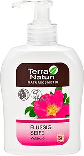 Savon liquide naturel TN à la Rose sauvage (Eglantier), 300 ml
