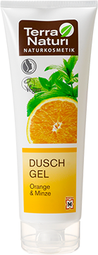 Gel douche TN Orange & Menthe, 250 ml