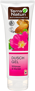Gel douche TN Eglantier & Amande, 250 ml