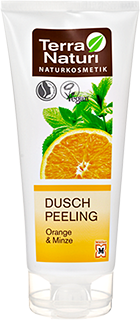 Douche Peeling TN Orange-Menthe, 200 ml