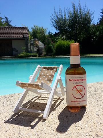 Spray anti moustique 100 pur et naturel for Anti moustique naturel maison