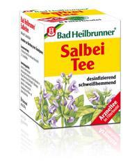 Infusion Bad Heilbrunner à la Sauge, 8 sachets