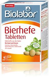 Comprimés de levure de bière Biolabor 100% naturels - 200 gr