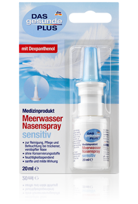 "Spray nasal à l'eau de mer ""Nez sensible"", 20 ml"