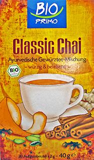 Classic chai bio primo 2