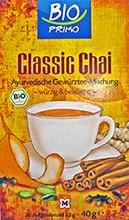 Classic chai bio primo 3
