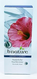 Crème de Nuit à l'Hibiscus et au Bambou, 50 ml