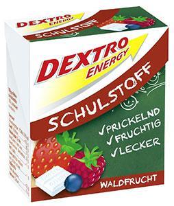 Boite de tablettes Dextro Energy, goût Fruits des bois, 50 g.