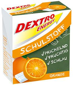 Boite de tablettes Dextro Energy, goût Orange, 50 g.