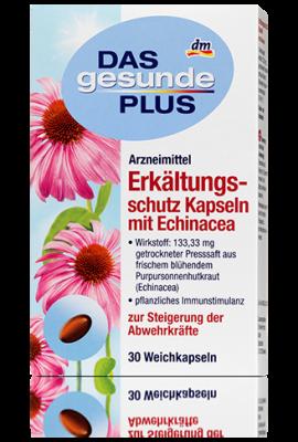 Capsules aux extraits d'échinacée pourpre, 30 gélules.