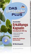 Gélules d'huile d'Eucalyptus Globulus DGP - 60 gélules