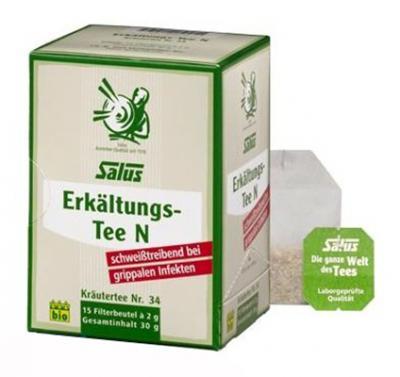 Infusion Bio anti-rhume / grippe / refroidissements, 15 sachets