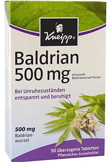 Kneipp baldrian 500 mg 2