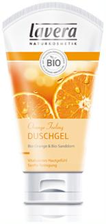 Gel douche Feeling Lavera Bio aux extrait d'Orange, 150 ml