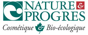 Logo natures et progres cosmetiques