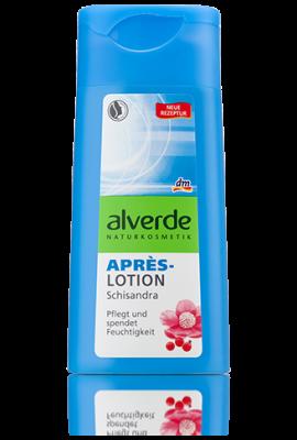Lotion Alverde Après Soleil au Schisandra, 200 ml
