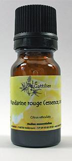Mandarine Rouge Bio, 5, 10 ou 15 ml
