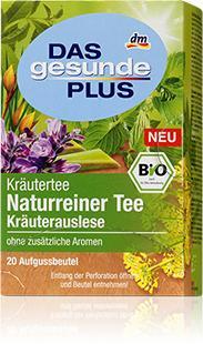 Infusion aux herbes 100% naturelles - bio, 20 sachets, DGP