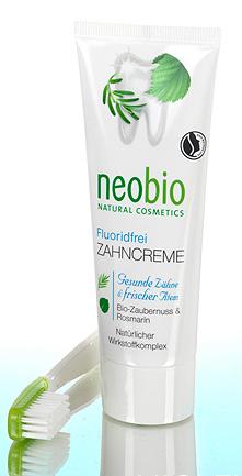 Neobio zahncreme sans fluor natrue 75 ml petit