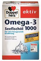 Oméga-3 - Huile de poissons de Mer Doppelherz 40 comprimés