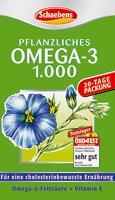 Omega 3 Schaebens à base de plantes + Vitamine E
