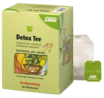 Infusion Détox Salus Bio N°1 40 sachets, 72 gr