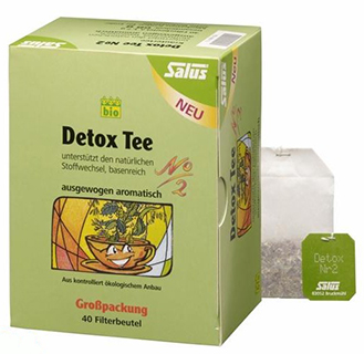 Salus detox tee nr 2 40 filterbeutel