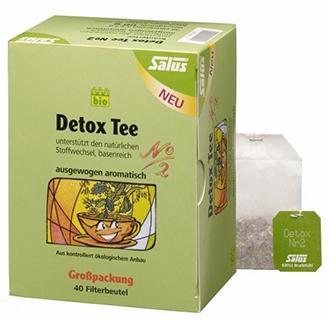 Infusion Détox Salus Bio N°2 40 sachets, 72 gr