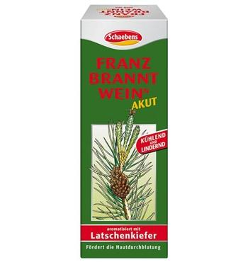 Lotion à friction Schaebens aromatisé au pin de montagne 500ml