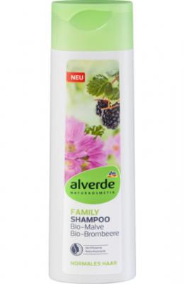 Shampoing Familial Mauve et Mûre, 300 ml