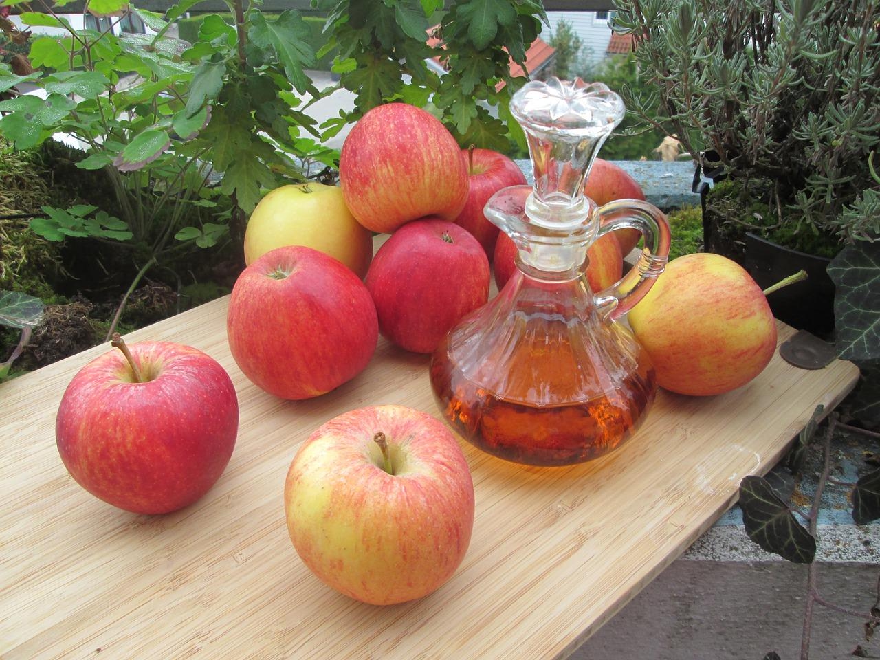 Vinaigre de pommes bio non chauffe non filtre et sans sulfites
