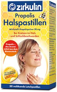Zirkulin propolis halspastillen 3